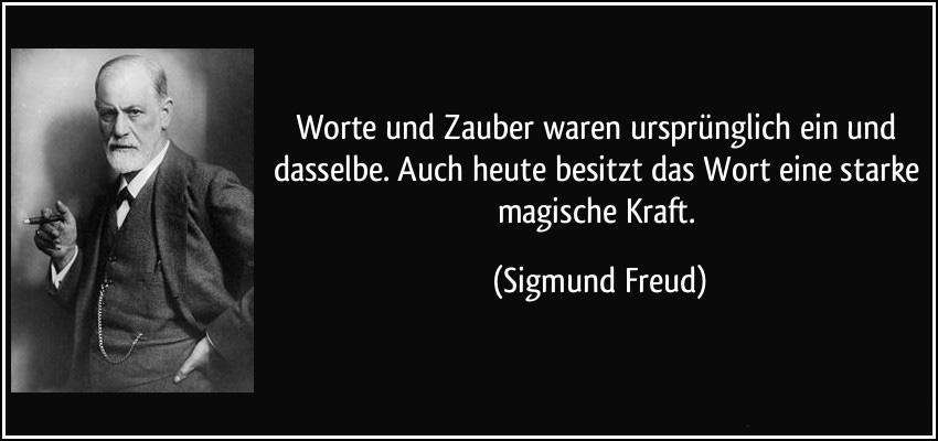 Sigmund Freud Zitat