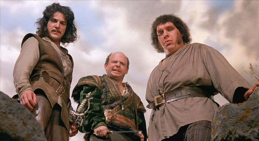 Mandy Patinkin, Wallace Shawn und André the Giant